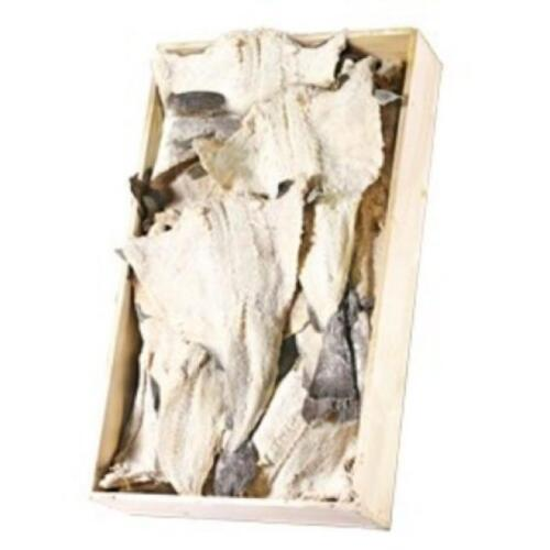 NORGE SALTED DRY CODFISH BACALHAU SECO - BACALAO  - 55Lb BOX - L - X L- JUMBO
