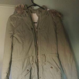 Nice warm khaki jacket Geelong Geelong City Preview