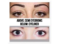 September offers microblading £75, SEMI PERMANENT EYEBROWS £85, INDIVIDUAL EYELASHES FROM ONLY £40