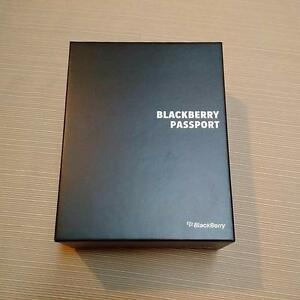 Blackberry Passport, Black, Brand New, Sealed, Unlocked