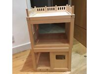 ELC Wooden Dolls House Garage/Extension to Dolls House-XMAS Present