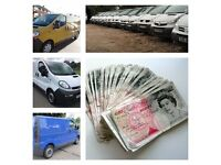 We Buy All Vauxhall Vivaro, Nissan Primastar, Renault Trafic Vans for cash