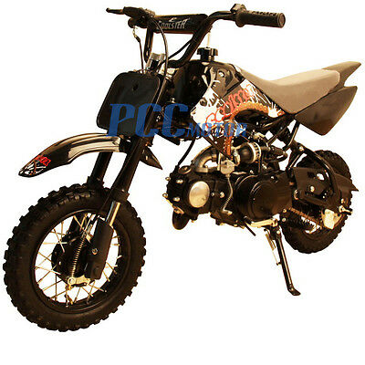 Free Shipping Coolster New 70cc Kids 4 Stroke CRF Style Dirt Bike DB70 Black