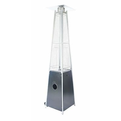 Legacy Heating 40000 BTU Outdoor Pyramid Quartz Glass Tube Patio Heater