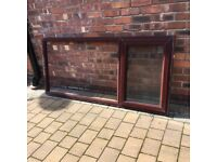 2 UPVC Window frames and glazing units