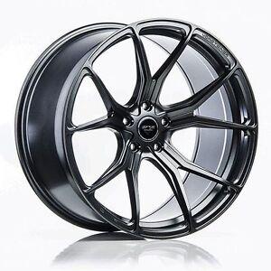 19 Inch Vorsteiner V-FF 103 Flow Forged Wheels Mystic Black - BMW 1M E82 M3 E92