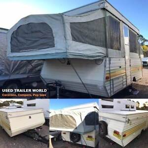 REGISTERED 6 BERTH JAYCO SWAN CAMPER TRAILER WITH LONG ANNEX Heathcote Sutherland Area Preview