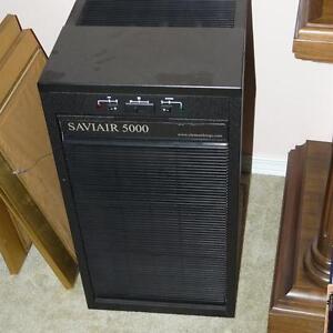 Saviair 5000 heavy duty air filter and ionizer