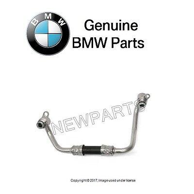 For BMW 135i 335is 740Li N54B30A Turbocharger Coolant Line Genuine 11537558901