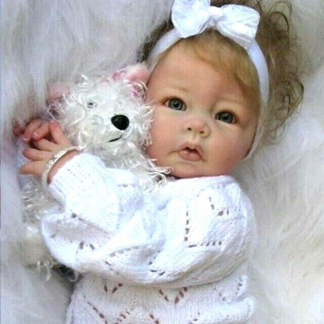 Little Beauty Full Vinyl/Silicone Toddler Reborn Baby Girl