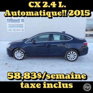 2015 BUICK VERANO CX 2.4 LITRES
