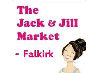 The Jack and Jill Market Falkirk, Grangemouth Sports Centre Sunday 9th April 2017FK3 8JE