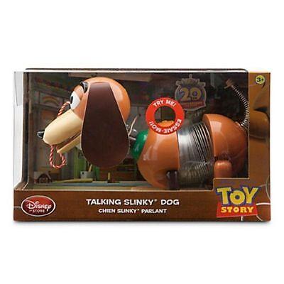 "Disney Store Talking Slinky Dog Action Figure Toy Story Pixar 11"" L NIB"