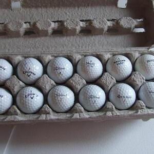 Experienced, pre-owned Golf Balls