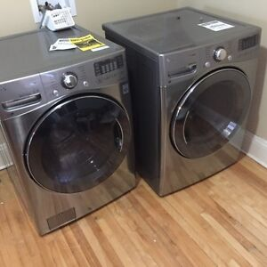 2015 LG Dryer and Washing machine, great condition for sale!