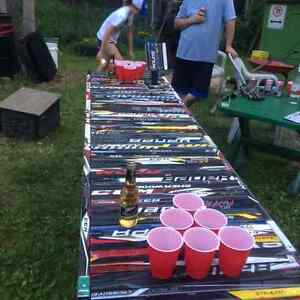 Hockey Themed Beer Pong Table