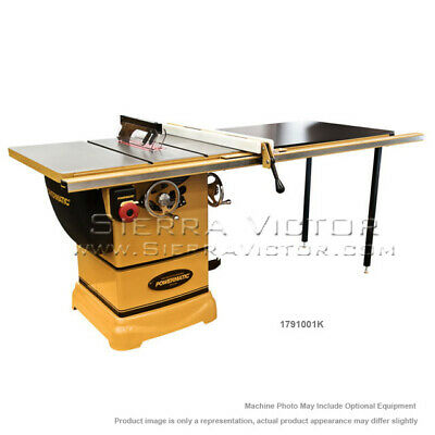 Powermatic Pm1000 Tablesaw 1-34hp 52 Fence Wriving Knife 1791001k