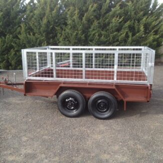 9x5 TANDEM TRAILER WITH CAGE HEAVEY DUTY Melton Melton Area Preview
