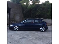 Honda Civic with a b16 engine in it car is immaculate!£1850 ono