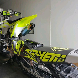 "2016 Yeti Snowmx 129"" with 2017 upgrades"