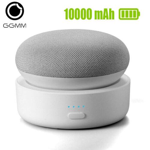 GGMM N2 Battery Base for Google Nest Mini 2 10000mAh Rechargable DockStation