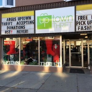 Uptown Thrift, Immediate Positions Cambridge Kitchener Area image 1