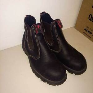 Redback Men's Work Boots Size 7 Elastic Sided Leather Safety Boot West End Brisbane South West Preview