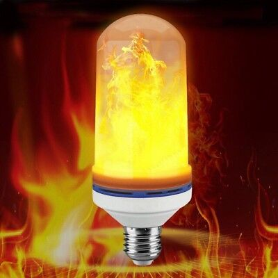 Cool Flame Effect LED Fire Light Bulb Halloween Indoor/Outdoor Decorations