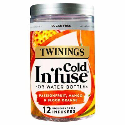 Twinings Passion Fruit Mango & Orange Cold Infuse 12's