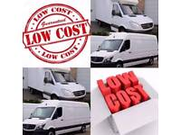 CHEAP MAN AND MOVERS MAN WITH VAN VAN HIRE NATIONWIDE HOUSE REMOVALS MOVING VAN SERVICE
