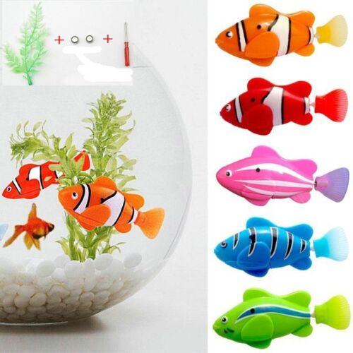 Fashion Swimming Robofish Activated Battery Powered Robo Fish Toy Robotic Fish