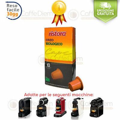 Orzo Barley Ristora 120 Capsule Cialde Compatibili Nespresso Compatibile
