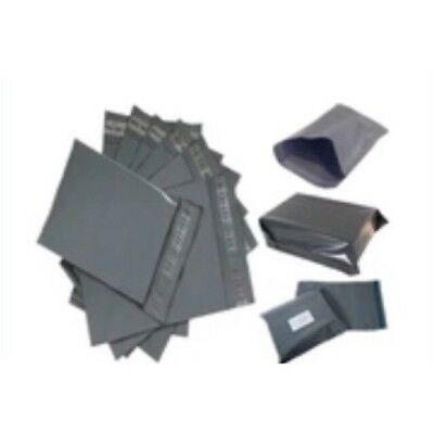 50x Grey Strong Poly Mailing Postal Bags-size -10*14