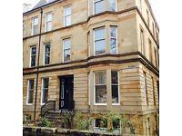Large Single Room on Hillhead Street, near Glasgow University