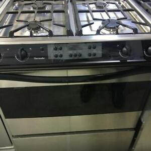 """30"""" Thermador DualFuel Stove slide in convection bake $699 kitch"""