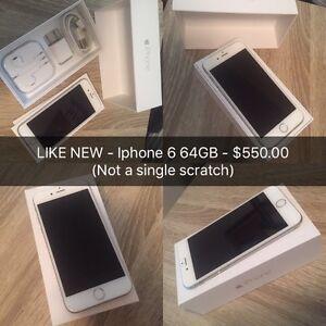 LIKE NEW Iphone 6 64 GB