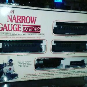 Bachmann Narrow Gauge Express Electric Train Set $199