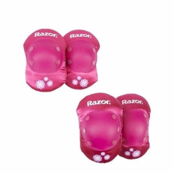 Razor Girl Child Elbow and Knee Pad Set Protector Sport Gear