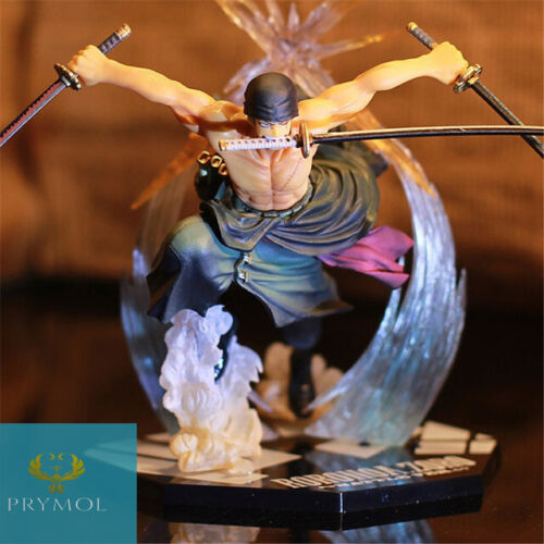 "NEW One Piece Roronoa Zoro Action Figure 6.7"" / 17cm Battle Ver. Collection"