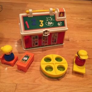 Fisher Price 50th anniversary edition school house