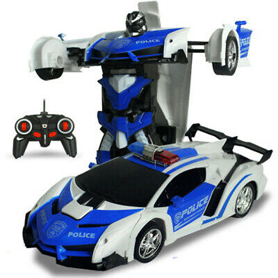 (Black Friday Promotion-50% OFF Only Today)-Transformer RC Toy Car