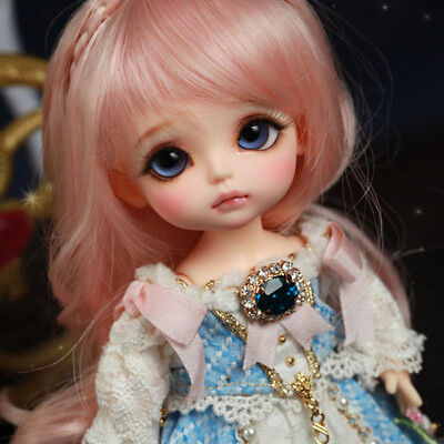 BJD Fashion Cute Happy Doll With Eyes For Baby Girls 1/8 BJD Bebe Toddler Reborn