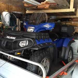VTT 2012 Polaris 850  twin- 1177 km