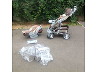 Mothercare Baby Pushchair System.