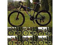"Coloured 2016 Giant Atx Mountain bike ""NEW"" boxed 26""1.95 Medium Size Aluminum Alloy"
