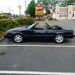 1984 Convertible Mustang