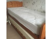 PINE TRUNDLE BED