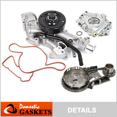 Fit 03-08 Dodge Ram 1500 Chrysler 5.7L HEMI Timing Chain Kit+Oil Pump+Water Pump