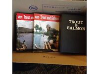 trout and salmon magazines free as too good to throw away.lots of good articles
