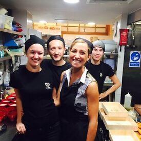 Le Pain Quotidien Exhibitionlooking for Waiter/Waitress/chefs- £7.20 per hour +Service charge+Lunch